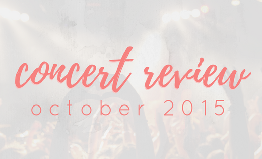 concert review oct 2015