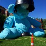 brown university sculpture bear