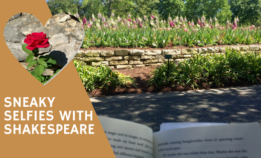 Selfies with Shakespeare Dallas Arboretum Reading