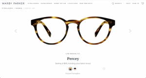 Warby Parker Glasses Percey Tortoise Round
