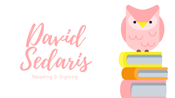 David Sedaris Reading & Signing at SMU