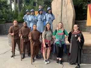 Universal Studios Orlando Florida Harry Potter Durmstrang Beaubaton
