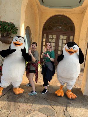 Universal Studios Orlando Florida Madagascar Penguins