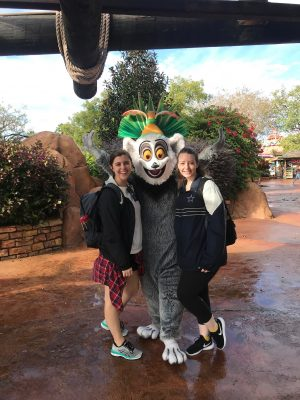 Universal Studios Orlando Florida Madagascar King Julian