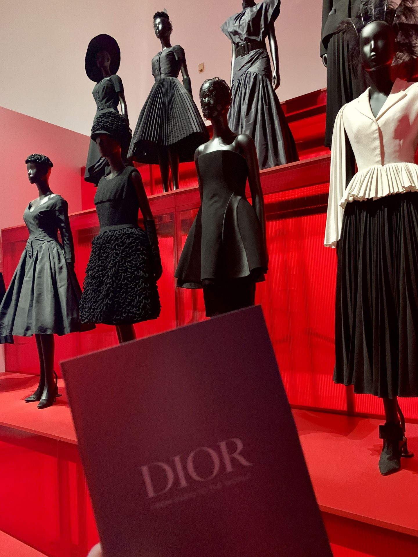 Christian Dior Art Exhibit at the Dallas Museum of Art black