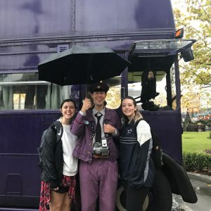 Universal Studios Orlando Florida Knight Bus Driver Harry Potter