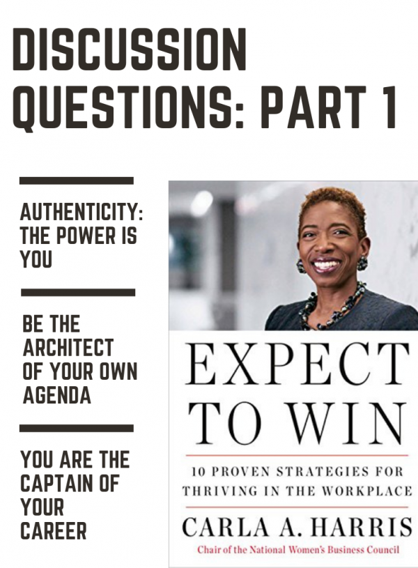 Carla Harris – Expect To Win | Discussion Questions Part 1
